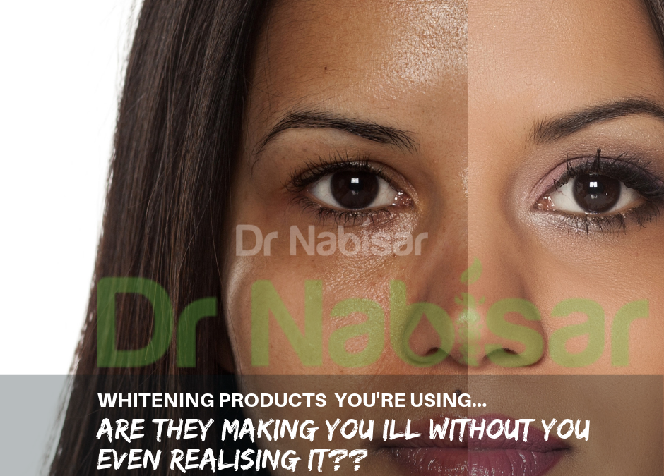 Skin whitening products in Malaysian market, are they making you ill?