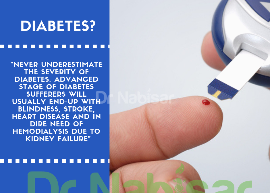 Substituting your health for unhealthy foods? You may end-up with diabetes..
