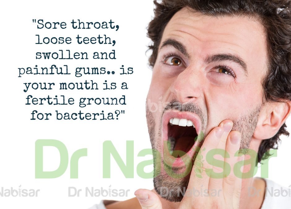 Our mouth is a 'home' to thousands of bacteria..yuckk!