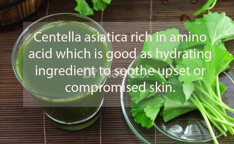 Is Centella asiatica good for skin?